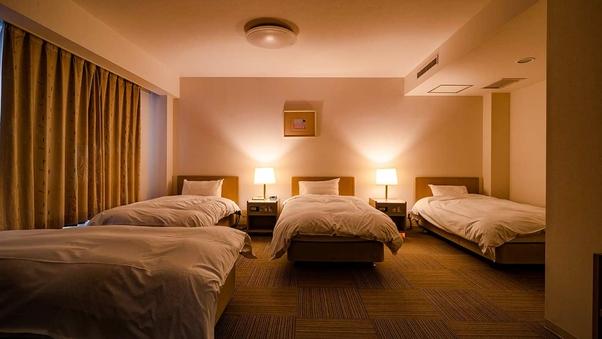 【禁煙】☆☆ 4ベッドルーム(家族室)<40平米>☆☆