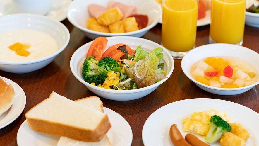 【朝食】人気の朝食バイキング(洋食)