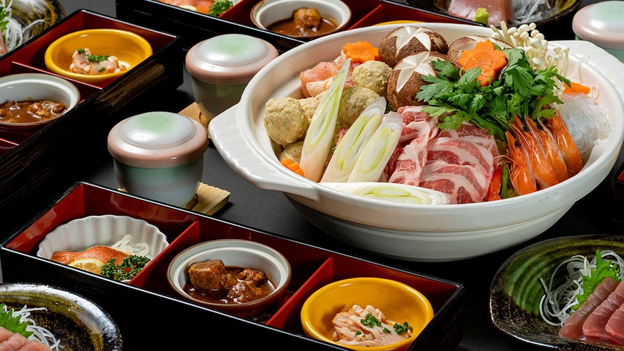 【夕食】季節・期間限定 塩ちゃんこプラン