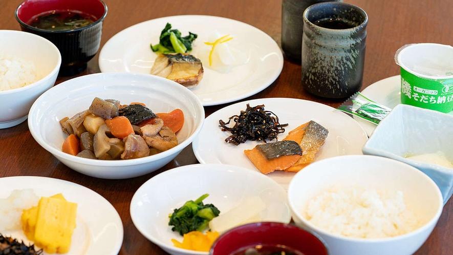 【朝食】人気の朝食バイキング(和食)