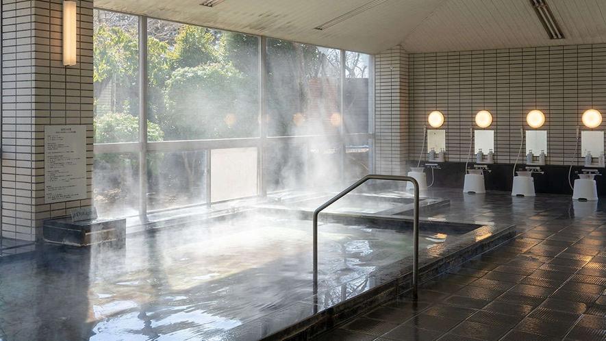 【男性大浴場】ぬる湯・水風呂・露天風呂