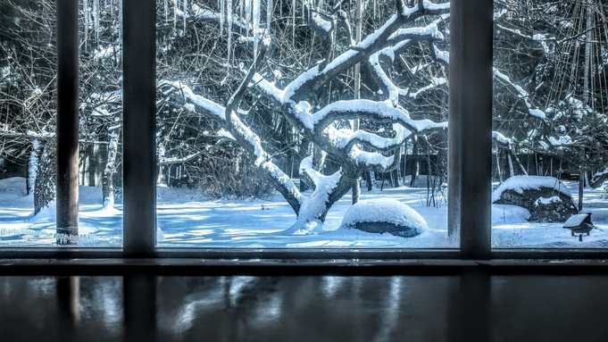 【冬の黒部のカニプラン】茹で紅ズワイガニ1杯付◆雪降る生地の冬のごちそう