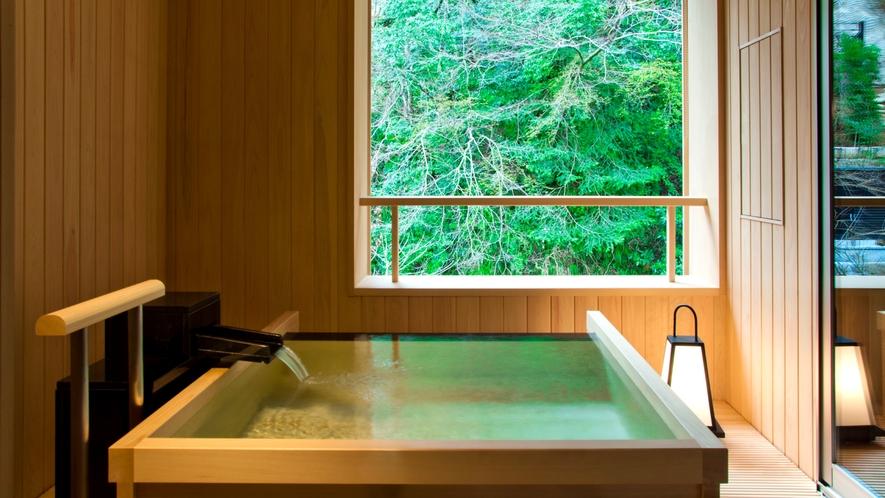 <本館>温泉半露天付 和室ツイン(川沿い)【ツインベッド】