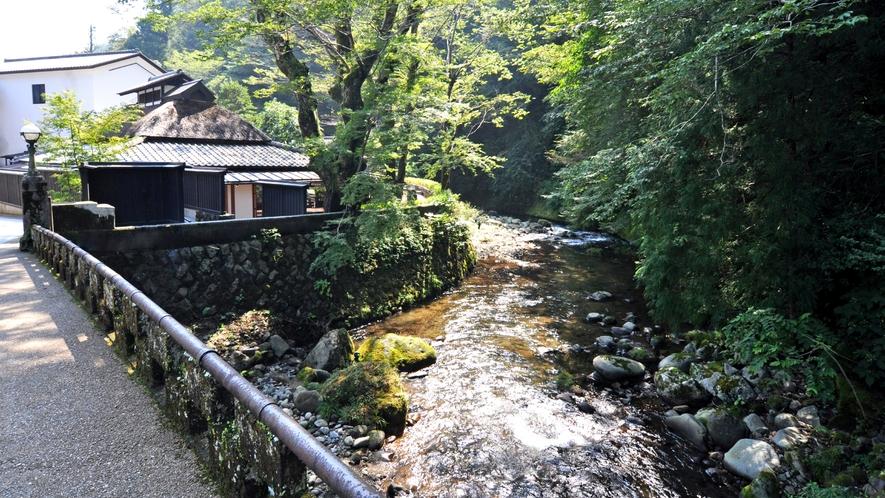 芳泉橋からの景色