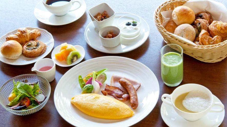 ご朝食 洋朝食(一例)