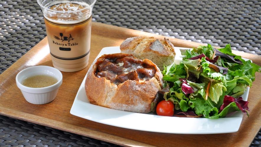 Bakery&Table 足湯カフェ(メニュー一例)