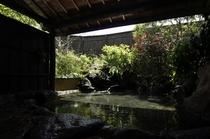 昼の露天風呂
