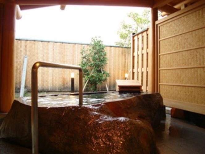 貸切風呂ひょうたん外風呂