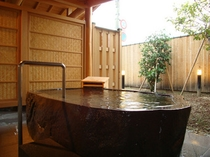 貸切風呂いなほ外風呂