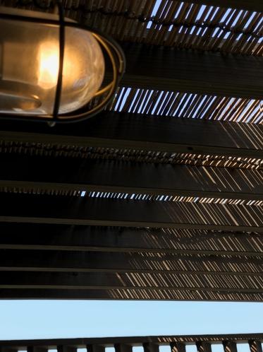 テラスの照明
