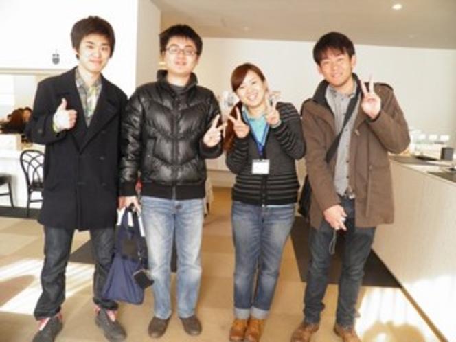 東京の学生さんと♪