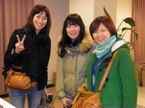 2011.02.11広島より素敵な3人組♪