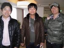 2011.02.11東京より二日酔いのお客様♪