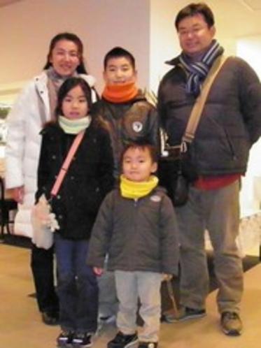 2011.02.11兵庫県より元気いっぱいの家族さま★