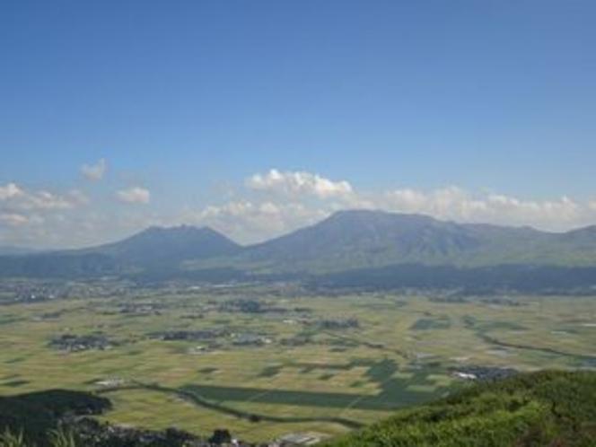 大観峰からの絶景