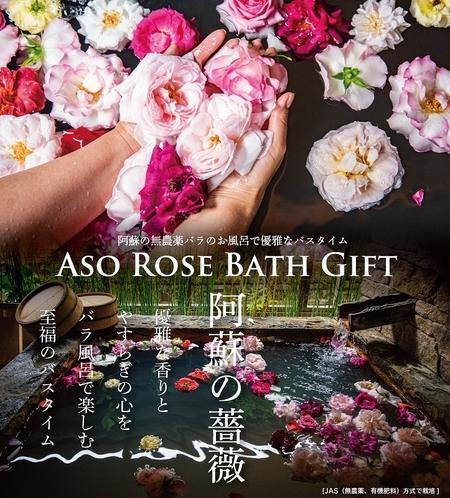 ASO Rose Bathプラン チラシ