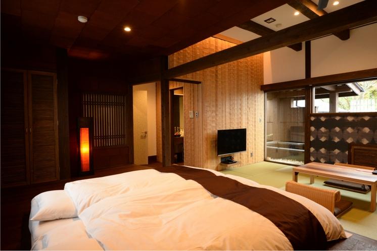 露天付デザイナーズ客室2(ゆうすげ)