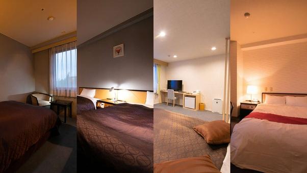 【禁煙】お部屋タイプはホテルにお任せ(1名)