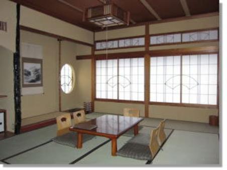 【AM】松川を望む純和室10畳間 ※トイレ・洗面台付き