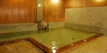 男性用浴室 源泉100%掛け流し 24時間ご利用頂けます