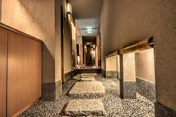 hallway (stone)
