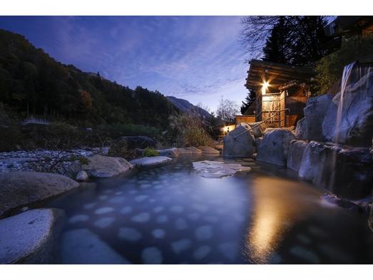 【秘湯の一軒宿】「槍ケ岳」を眺める露天風呂が自慢!☆槍見館スタンダードプラン