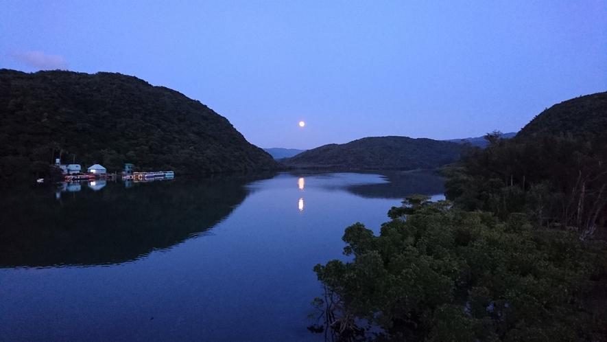 夜の浦内川