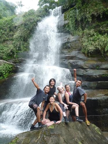 ユツンの滝ツアー