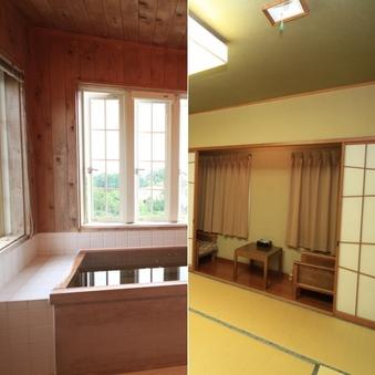 和室檜風呂付特別室【ペット同室小型犬〜超大型犬】
