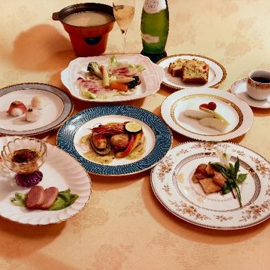 ★ママが手作りするスープフォンデュのディナーコースと和朝食プラン