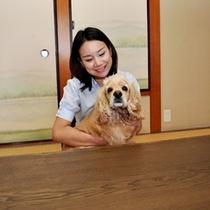 畳のお部屋ももちろん愛犬と一緒♪