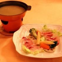 地魚スープフォンデュ