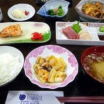 夕食一例(全体)