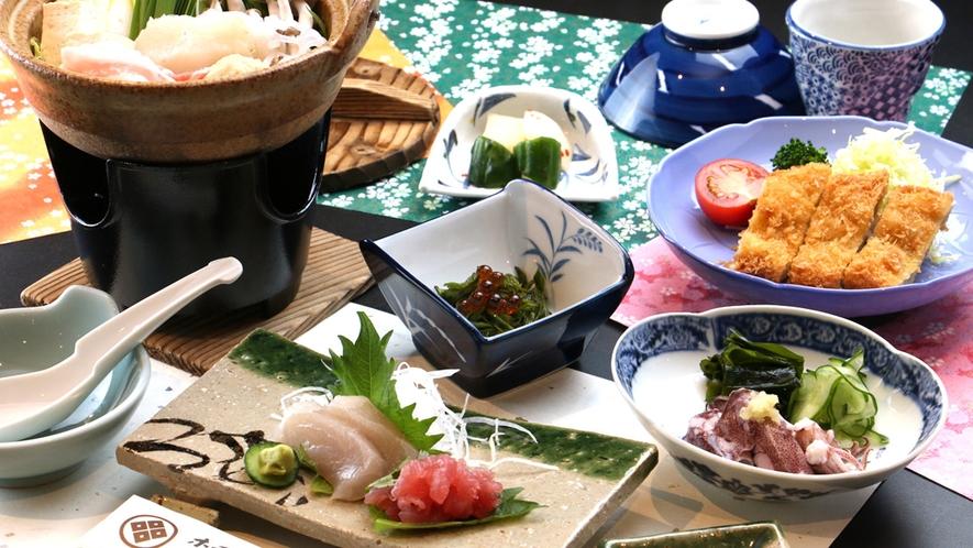 頑張るビジネスマンに!海の幸も楽しめるお食事内容となっております。