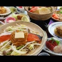 【鮭のちゃんちゃん焼き】バターの香りと鮭がベストマッチ!