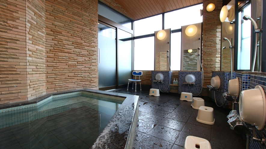 人工温泉で湯上りは体がぽかぽかと温まります。