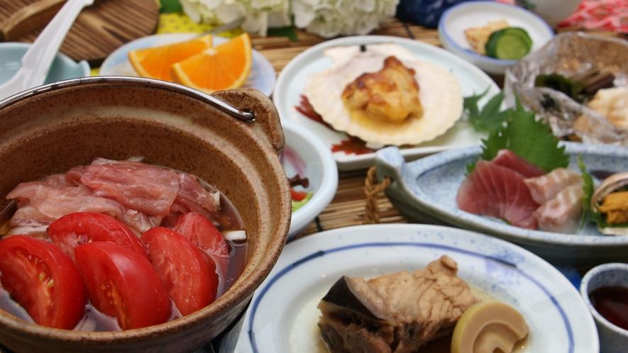 地元陸前高田で採れたトマトをはじめ、美味しい夏の南三陸がたっぷり味わえます!