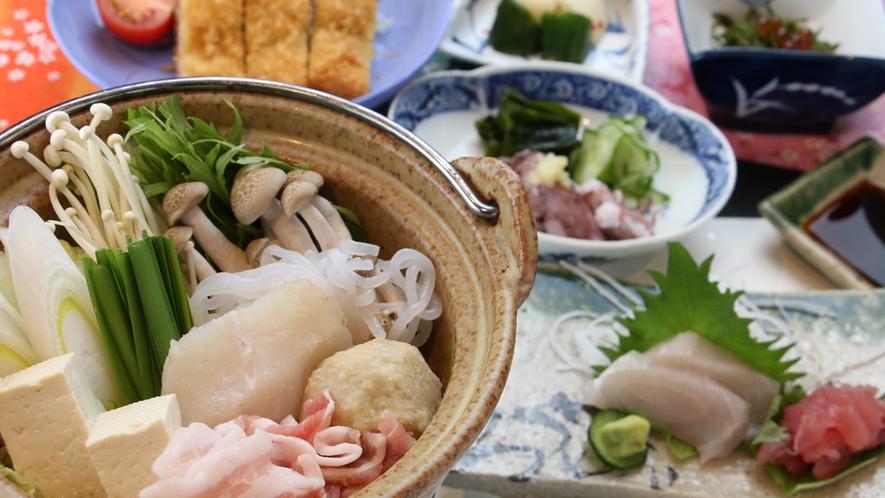 三陽のビジネス専用のお食事は海の幸も味わえてボリュームたっぷり♪