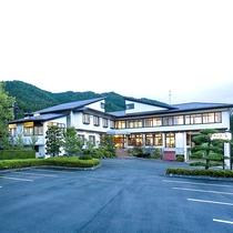 *【外観】陸前高田の高台にある宿。