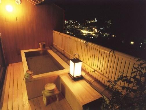姫百合の間 露天風呂