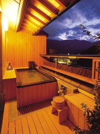 夕菅の間 露天風呂