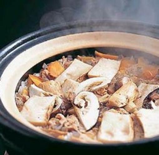 土鍋炊きの松茸ご飯