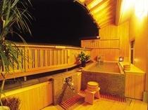 水仙の間 露天風呂