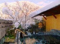展望露天風呂 姫の湯 (雪景色)