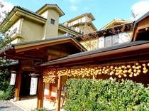 干し柿 玄関