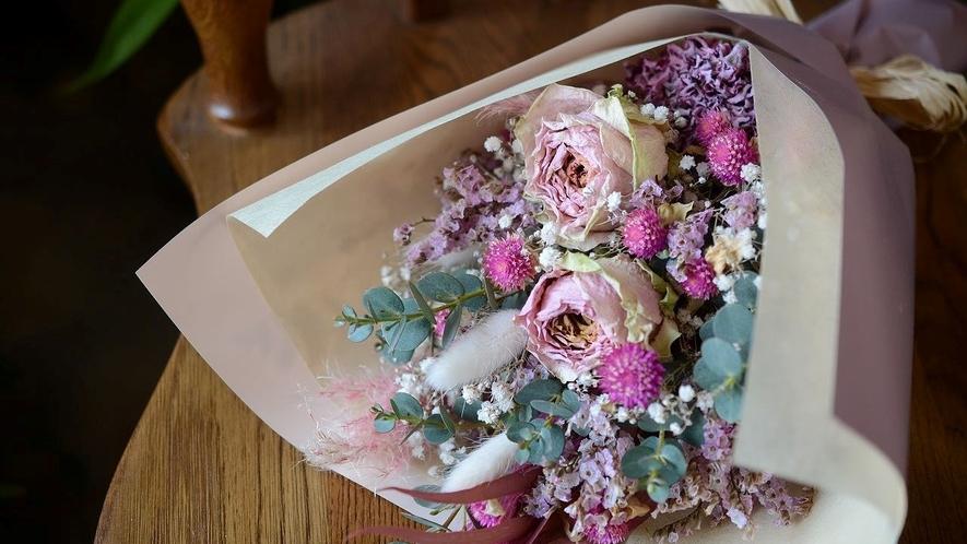 花束ピンク