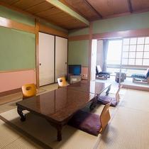 *【客室一例】客室はすべて和室。全7室の中には、6畳から12畳までありますので、大人数でもOK!