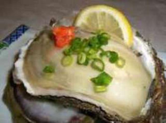 岩牡蠣(ポン酢仕立て)