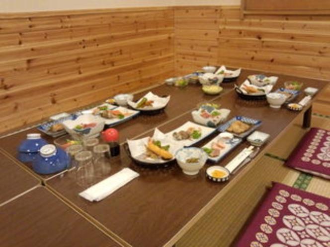 ある日の夕食風景