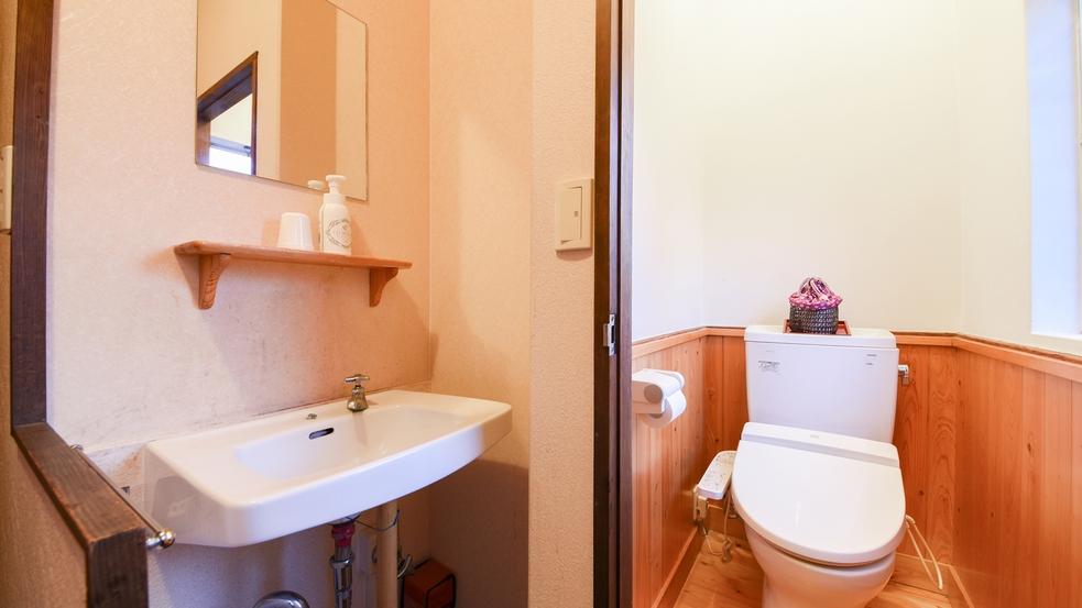 *【大部屋タイプ/一例】一部洗浄機能付きトイレのお部屋もございます。